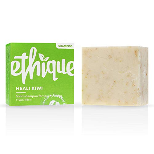 Ethique Eco-Friendly Dandruff Shampoo Bar for Itchy Scalps, Heali Kiwi - Sustainable Natural...