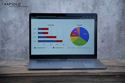 KAPSOLO 9H - Protector de pantalla antirreflectante para Lenovo ThinkPad X13 Yoga Gen 1
