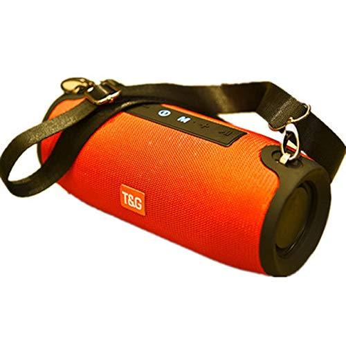 SIRUL Altavoz portátil Bluetooth inalámbrico 20W Bajo Columna Impermeable al Aire Libre del Altavoz Soporte AUX USB TF Altavoz subwoofer, para Baño Fiesta en la Piscina al Aire Libre Beach Alquiler,C