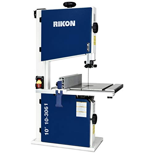 Rikon 10-3061 10' Deluxe Bandsaw, Includes Fence and Two Blade Speeds