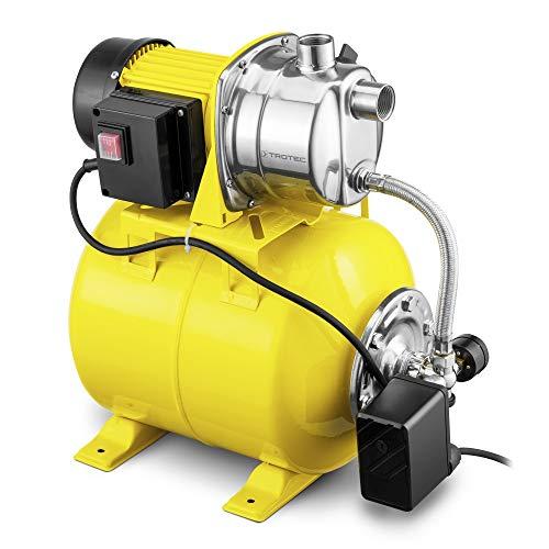 TROTEC TGP 1025 ES Hauswasserwerk Gartenpumpe Wasserwerk Wasserpumpe 3.300 l/h Förderleistung 1.000 Watt Leistung