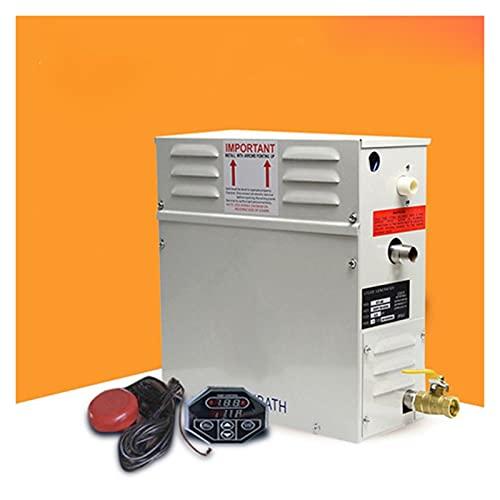 YAOSHI Calentador de Sauna 9kw Generador de Vapor for Ducha Inicio Máquina de Vapor Equipo Sauna Sauna Baño SPA Ducha de Vapor con Controlador Digital. Generador de Vapor