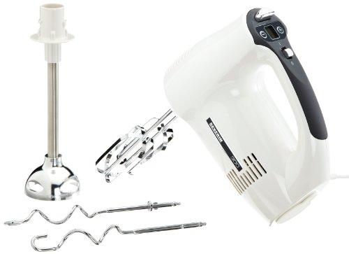Severin HM 3813 Handmixer mit Display (300 Watt, Kunststoff) grau/weiß