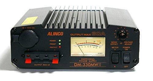 Alinco DM330MW MkII 30 amp switch mode low noise power supply