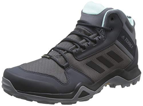 adidas Damen Terrex AX3 MID GTX Fitnessschuhe, Mehrfarbig (Gricin/Negbás/Mencla 000), 43 1/3 EU