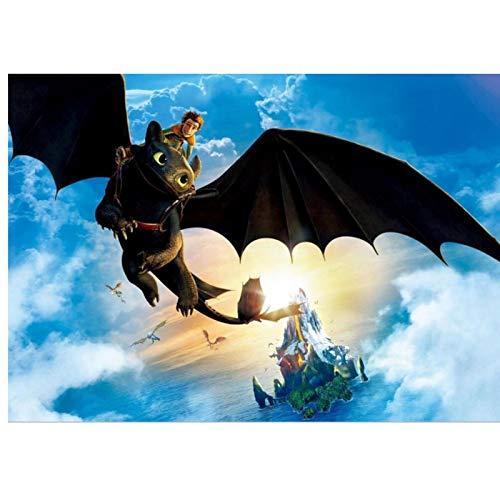Vinilo Como Entrenar A Tu Dragon  marca 5Tdfc