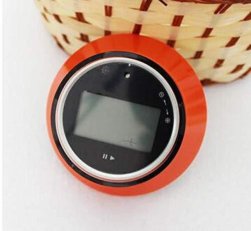 XYXZ Temporizador De Cocina Temporizador De Cocina LCD Digital Magnético 15S A 99 Minutos Cuenta Atrás Cuenta Atrás Reloj Despertador Recordatorio Herramienta De Cocina Naranja