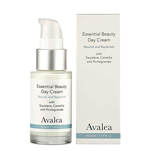 Essential Beauty Day Cream with Squalane - Anti-Aging Face Moisturizer - All Skin Types - Avalea Skincare, 1.69 fl. oz.