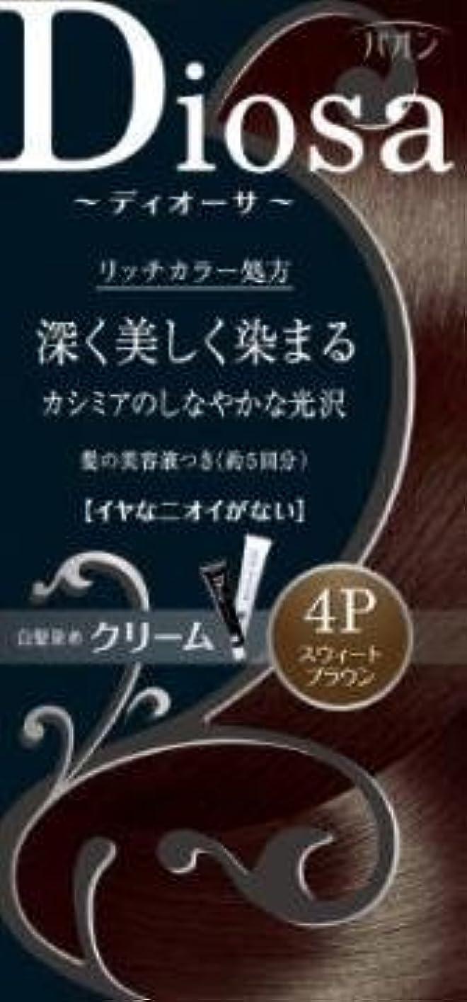 独裁ゴミ入浴【シュワルツコフヘンケル】パオン ディオーサ クリーム 4P スウィートブラウン ×5個セット