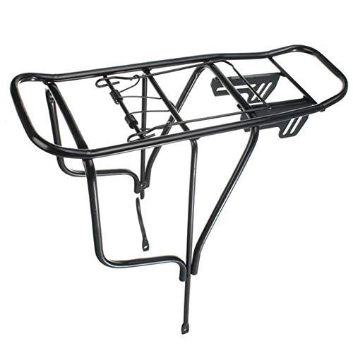 PQXOER Soporte trasero para bicicleta de bicicleta de aleación para portaequipajes trasero de bicicleta