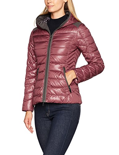 Taifun Damen Outerwear 3 Jacke, Rot (Marsala Patch 6013), 36