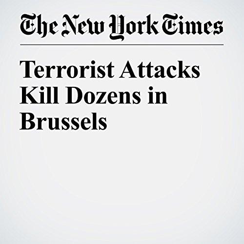 Terrorist Attacks Kill Dozens in Brussels audiobook cover art
