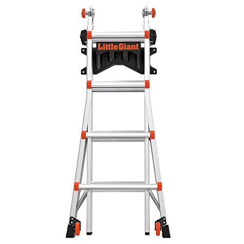 Little Giant Ladder Systems 15097 Ladder Storage Rack, Black/Orange