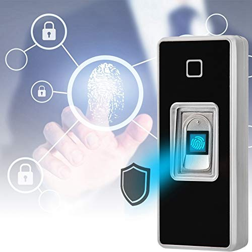 Kafuty Fingerprint Scanner, Türöffner, Fingerabdruck Schloss, Zutrittskontrolle Access Control Zugangskontroll Fingerabdruck Leser Tür Geeignet für Büros, Fabriken und Wohngebieten usw.