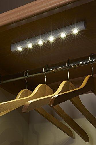 Auraglow LED automatica striscia di luce movimento eccellente senza fili luminoso con 6 LED