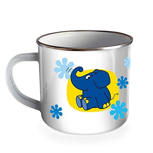 Trötsch Die Maus Emaille Becher Tasse Elefant