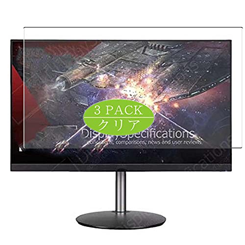VacFun 3 Piezas Protector de Pantalla, compatible con Acer Nitro XF273 Zbmiiprx XF273Zbmiiprx 27' Display, Screen Protector Película Protectora (Not Cristal Templado Funda Carcasa)