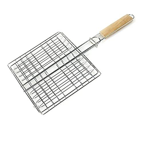 YNLRY 1 cesta de barbacoa portátil antiadherente barbacoa al aire libre jardín picnic barbacoa herramienta de cocina accesorios (color: 1 unidad)
