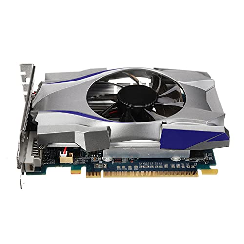 GUISHU GT730 GDDR5 4GB 128Bit Express Game Video Card Graphics Card BTC Mining Video Card with A Cooler Fan for NVIDIA GeForce