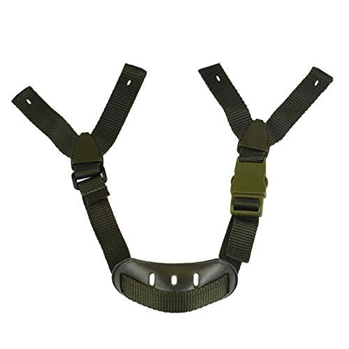 Andux Helmet Chin Strap Universal Hard Hat Chin Strap Y-Shape Perforated TKXBT-01(Armée Verte)