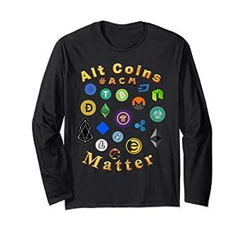 Alt Coins Matter #ACM Long Sleeve T-Shirt