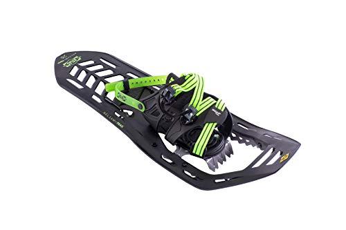 Atlas Snowshoes Helium Trail, Black/Bright Green, 23