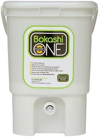 Bokashi One Eco-Friendly Composting Kitchen Plastic Bucket 20 Litre - White