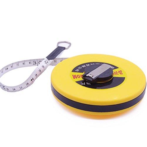 メジャー 巻き尺 テープメジャー グラスファイバーテープ 20メートル