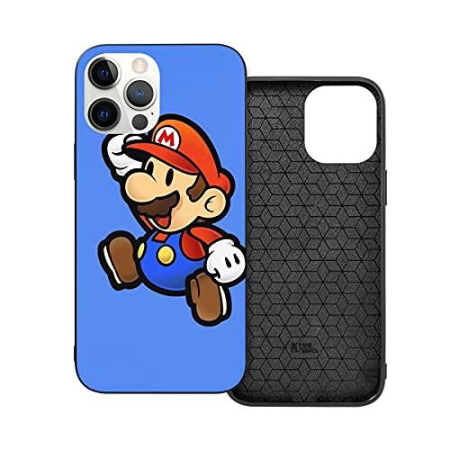 2021 Hot!!! Super Game Mario(2) - Carcasa blanda para iPhone 12, color blanco