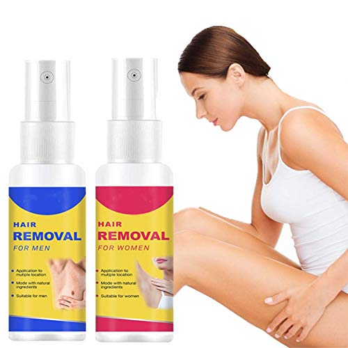 Natural Hair Removal Spray Foam, Painless Hair Stop Growth Spray, Magic Hair Removal Spray For Arm Leg Body Care For Man And Women 50ml