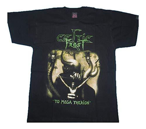 Women's/Damen Tops Celtic Frost Colour17 Poster Tee|T-Shirt Kurzarm Short Sleeves Fashion Mode Tee