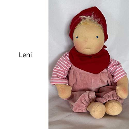 Leni - Babypuppe nach Waldorf Art, ca. 33 cm