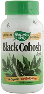 Black Cohosh - Root, 100 Caps [Pack of 8]
