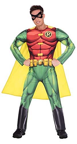 Amscan 9906103EU Robin Classic - Disfraz de Halloween para hombre