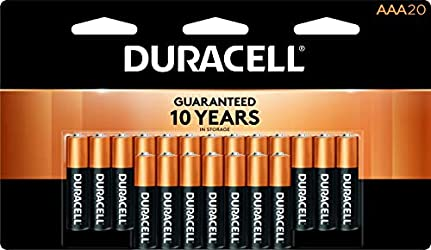 Duracell - CopperTop AAA Alkaline Batteries - long lasting, all-purpose Triple A battery for househo