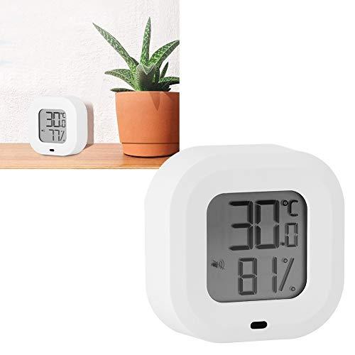 BOTEGRA Medidor de Humedad de Temperatura electrónico, termohigrómetro de Temperatura de Alarma de...