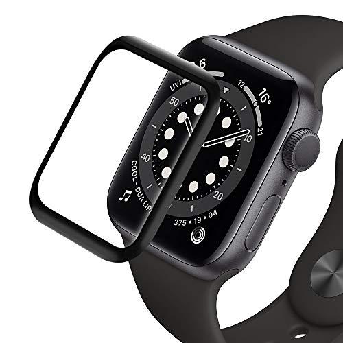 RHESHINE Panzerglas Schutzfolie Kompatibel für Apple Watch 44mm Series 5 und Apple Watch Series 4 44mm Panzerglas 9H Hartglas iWatch Series 5/4 44mm Displayschutzfolie Anti-Kratzer Anti-Öl [2 Stück]