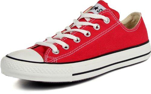 Converse Chuck Taylor All Star Low Top Sneaker Red 15 Women/13 Men