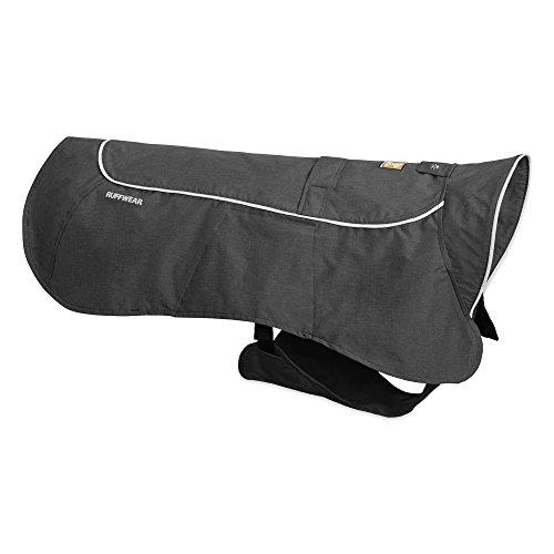 Ruffwear Wasserdichte Regenjacke für Hunde, Sehr große Hunderassen, Größe: XL, Grau (Twilight Grey), Aira, 0580-025L1