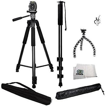 Sony Alpha 7 Digital Camera Tripod Folding Table-Top Tripod for Compact Digital Cameras and Camcorders Approx 5 H