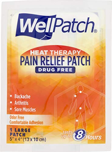 WellPatch Warming Pain Relief Pads, 0.05-Ounce Pouch (Pack of 15)