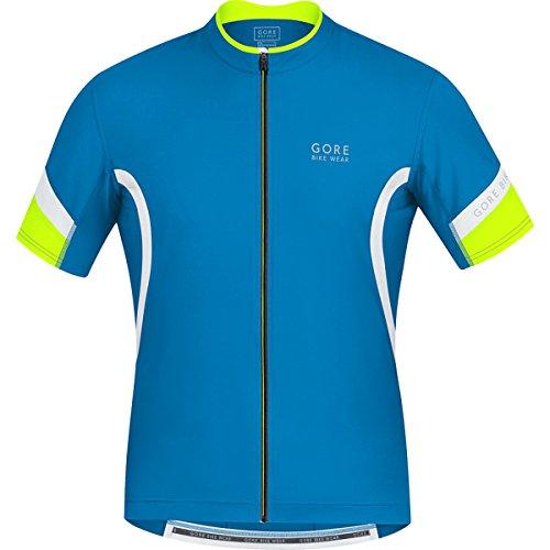 GORE WEAR Power 2.0 Maillot de Ciclismo, Hombre, Multicolor (Splash Blue/White), S