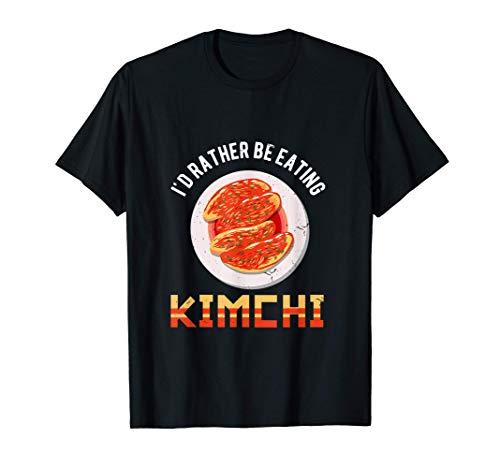 Love Kimchi South Korean Alimentos Camiseta