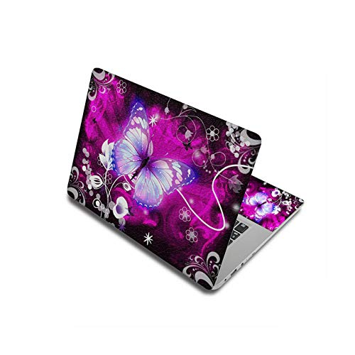 Peach-Girl Case for Lenovo/HP/Macbook/Dell, Laptop Sticker Butterfly 11.6 Inch, 12 Inch, 13.3 Inch, 15.6 Inch, 17 Inch