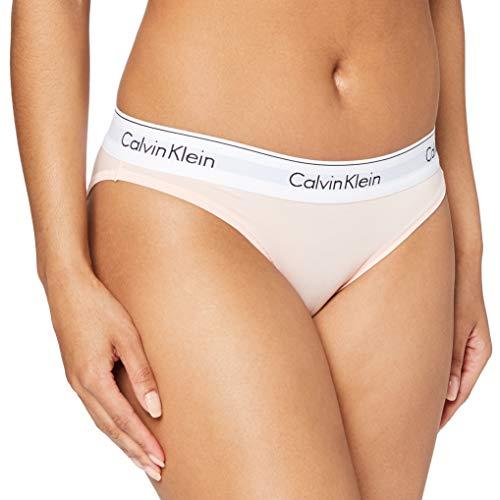 Calvin Klein Underwear Damen Bikini Slip - Modern Cotton, Rosa (Nymphs Thigh 2nt), XL