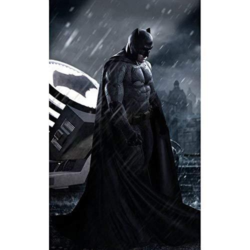 YUX Rompecabezas de Batman 300/500/1000/1500 Piezas for Adultos DC Comics Liga de la Justicia Superman Wars Rompecabezas, 4 Estilos R/630 (Color : D, Size : 1000 Pieces)