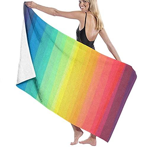 Toallas de baño,Arco Iris del Orgullo Gay,Toallas para Playa hogar Piscina Deporte,80 x 130cm