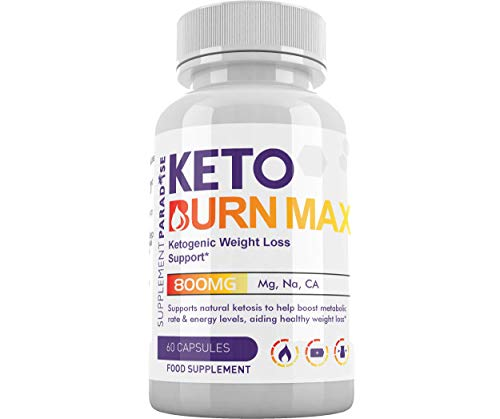 Keto Burn Max - Ketogenic Weight Loss Support for Men & Women - 1 Month Supply - SUPPLEMENT PARADISE