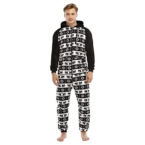 BIBOKAOKE Bademantel Herren Waffel mit Kapuze Morgenmantel flauschig Nachtwäsche Kimono Lang Robe Morgenmantel Plüsch und Kuscheliger Bademantel für Männer Schlafanzug Hausanzug