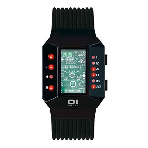 The One SC202R5 Split Screen - Reloj binario para hombre